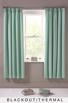 Micro-Fresh Plain Dye Pencil Pleat Curtains