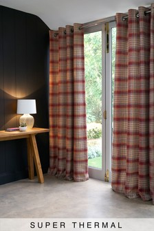 Tweedy Cranford Eyelet Super Thermal Curtains