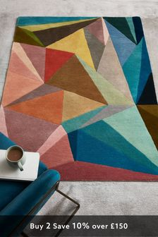 Spliced Brights Rug
