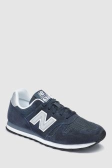 New Balance Navy/Silver 373