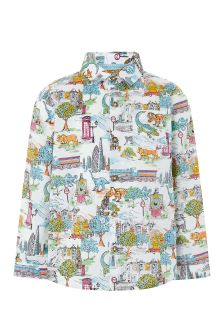 Monsoon Ivory Charlie Safari Shirt