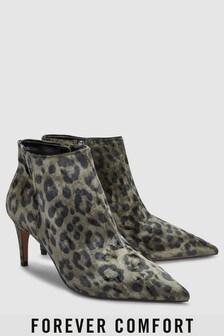 Forever Comfort Velvet Ankle Shoe Boots