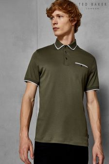 Ted Baker Jelly Contrast Collar Polo