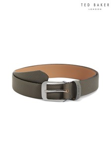Ted Baker Grey Leather Belt
