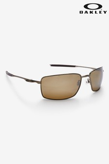 Oakley® Brown Square Wire Sunglasses