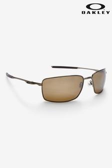 Коричневые квадратные солнцезащитные очки Oakley®