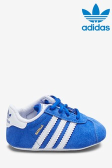 adidas Originals Blue Gazelle Crib Trainers