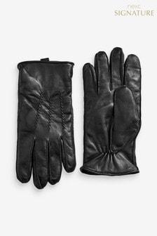 Kožené rukavice Signature