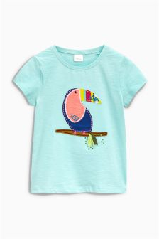 Toucan Print T-Shirt (3mths-6yrs)