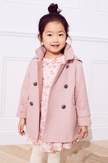 Military Style Coat (3mths-6yrs)