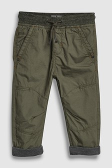 Jersey Lined Boarder Trousers (3mths-6yrs)