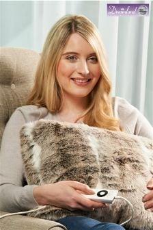 Dreamland Heated Cushion Alaskan Faux Fur Cushion