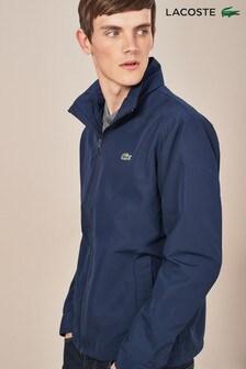 Lacoste® Navy Rain Jacket