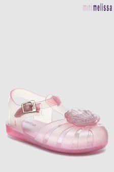 Sandales Mini Melissa Aranha roses