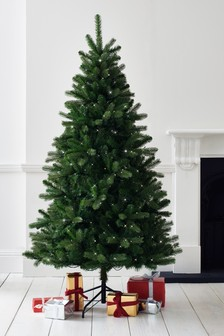 300 led collection luxe douglas fir 6ft christmas tree - British Christmas Tree Decorations