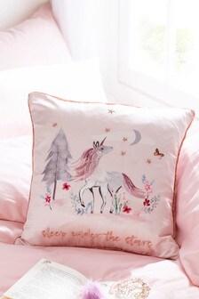 Magical Woodland Unicorn Cushion