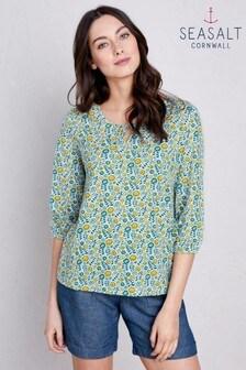 Seasalt Blue Trereife T-Shirt