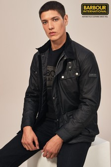 Barbour® International Duke Slim Fit Wax Jacket