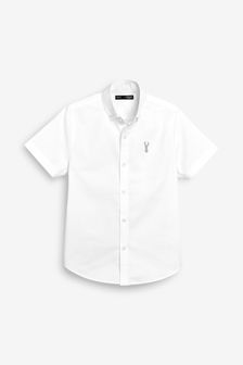 Short Sleeve Oxford Shirt (3yrs-16mths)