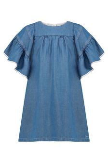 Chloe Kids Girls Blue Dress