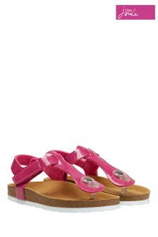 Joules Pink Sundale Toe Post Sandal
