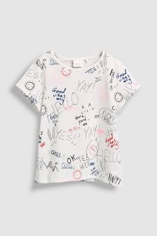 Scribble Short Sleeve T-Shirt (3mths-6yrs)