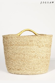 Jigsaw Nell Mini Jute Grab Bag