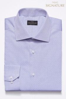 Signature Herringbone Regular Fit Shirt