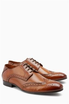 Wide Fit Brogue