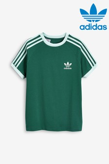 adidas Originals Green 3 Stripe California T-Shirt
