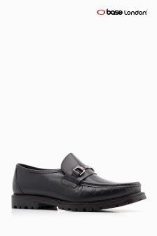 Base London® Black Breach Slip On Shoe
