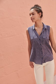 ce888b0c232 Sleeveless Utility Shirt