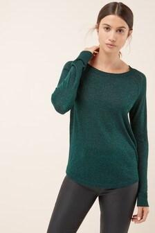 Roll Edge Sweater