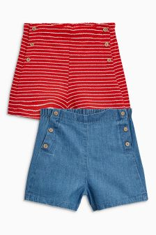 Lido Shorts Two Pack (3mths-6yrs)