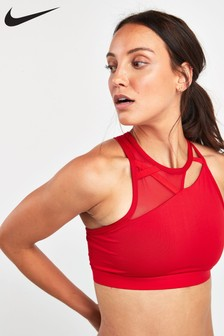 Nike Red Slash Rebel Bra