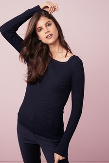 Button Back Sweater