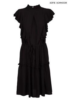 Sofie Schnoor Black Smock Dress