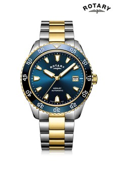 Rotary Gents Two Tone Gold Bracelet Watch