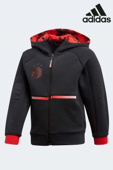 adidas Black Star Wars Full Zip Hoody