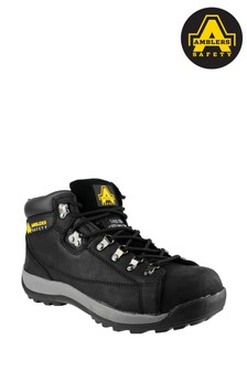 Amblers Safety Black FS123 Hardwearing Lace-Up Safety Boots