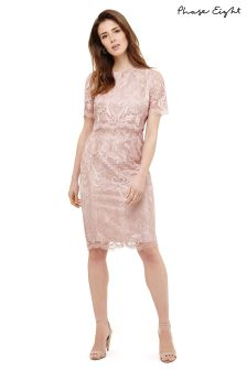 Phase Eight Pale Iris Aida Lace Dress