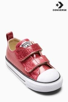 Converse Glitter Velcro Chuck Ox