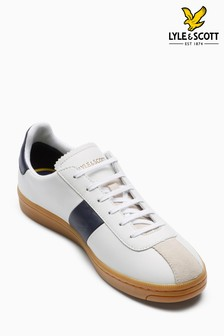 Lyle & Scott White Campbell Trainer
