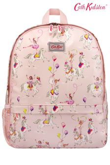 Cath Kidston® Prancing Ponies Kids Backpack With Mesh Pocket