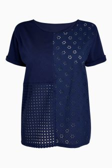 Broderie Patch T-Shirt