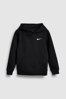 Nike Club Black Overhead Hoody