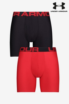"""Under Armour 6"""" Boxers Two Pack"""