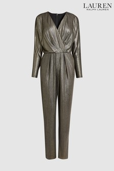 Lauren by Ralph Lauren Black Jumpsuit