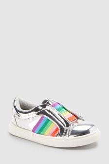 Chaussures de skate arc-en-ciel (Enfant)