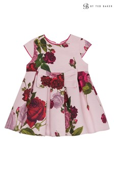 baker by Ted Baker Pink Rose Ottoman Dress